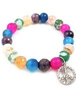 Image of Colorful Peace Bracelet (Sold Seperate)