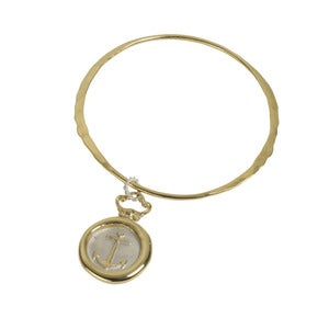 Image of Anchor Wax Seal Bangle