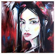 Image of 'Tokyo Baby' - Original painting on canvas