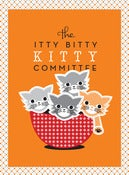 Image of 2012 Itty Bitty Kitty Committee Fundraiser Poster by Boo Davis