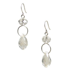 Image of palace earring: clear