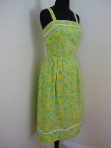 Image of Lilly Pulitzer floral print sundress