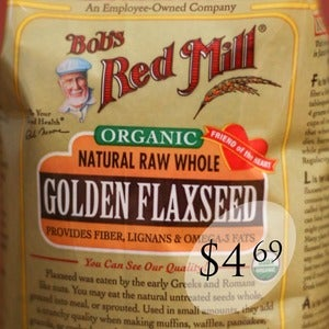 Image of Bob's Red Mill Organic Golden Flax Seed 24-oz. Bag
