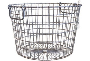 Image of Zinc Wire Basket