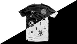 Image of ∞ WI FI T—Shirt ∞