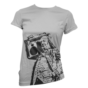 Image of Women's Ben Jammin' Tee (Heather Grey)