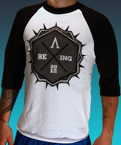 Image of &quot;Being&quot; Baseball Tee