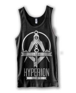 Image of Black Freemason Tri-Blend Tank