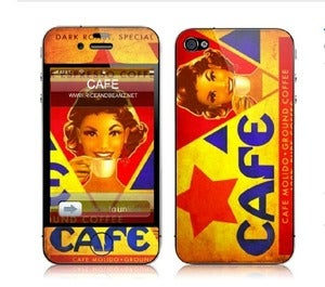 Image of Cafe Gelaskin for smartphones.