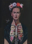 Image of Frida / Special Edition Canvas Print / 12x16