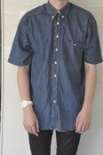 Image of Short Sleeve Denim Shirt