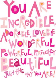 Image of You Are Incredible