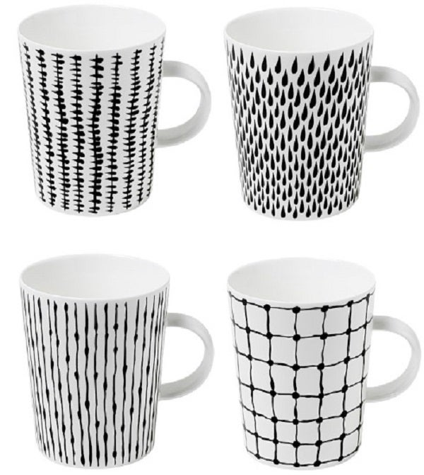 Image of &quot;Bono&quot; Mugs (set of 4)