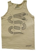 Image of Snake Tank Top - Sand