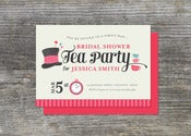 Image of Mad Hatter Tea Party Invitation (10)