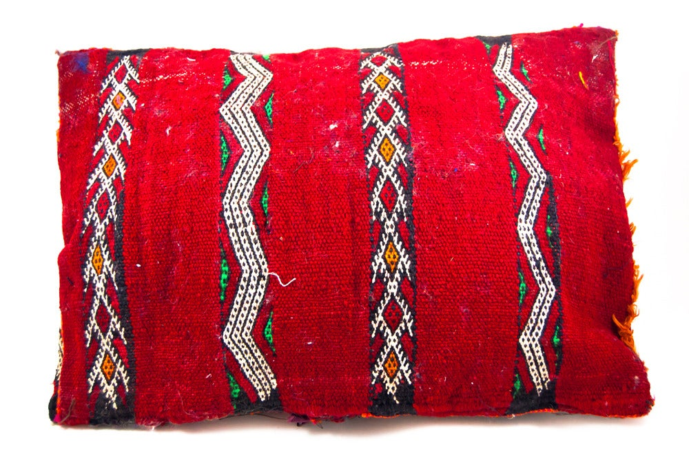 Image of Berber Pillow, kilim