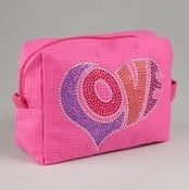 Image of Embellished Cosmetic Bag