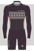 Image of STANDRIDGE THROW-BACK IN BLACK SKINSUIT - long sleeve