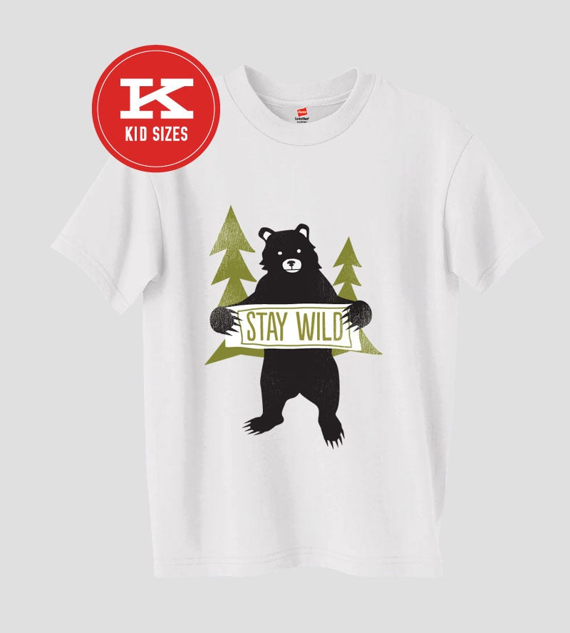 Image of Stay Wild (Kids) - Batch 2 | Designed by Amy Sullivan