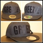 Image of Snapback - Black & Black