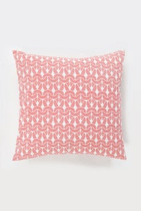 Image of Pink Knit Knit Cushion