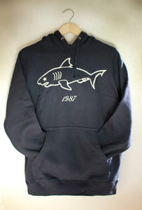 Image of Eighties Shark Hoodie