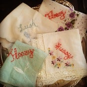 Image of Embroidered Hankies