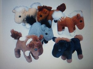 Image of Plush Horses