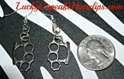 Image of Brass Knuckle Earrings