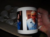 Image of CULT LEADER CHARLES MANSON EXCLUSIVE COFFEE MUG
