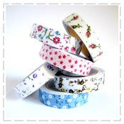 Image of Floral Fabric Tapes