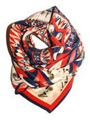 Image of Lucy Jay x JaguarShoes Collective Silk Scarf