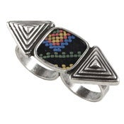 Image of Cleo Ring - Tribal