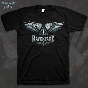Image of Ravenface Logo T shirt