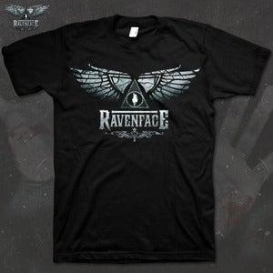 Image of Ravenface Logo T shirt