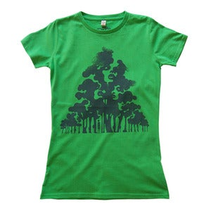 Image of Wood For The Trees - Women's Slim Fit