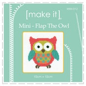 Image of Flap the Owl - Mini Cross Stitch