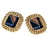 Image of Candice Stud Earrings - Tribal