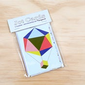 Image of Polyhedra Jot Cards