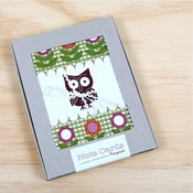 Image of Retro Owl Note Cards