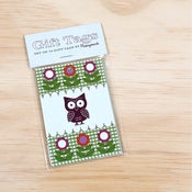 Image of Retro Owl Gift Tags
