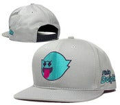 "Image of NEW! Pink Dolphins ""Ghost Tank"" Snapback Hat Collection"
