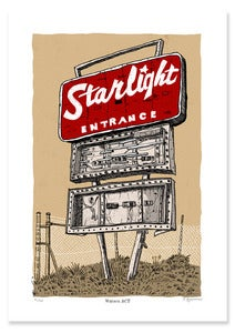 Image of Canberra Starlight Drive-in digital print