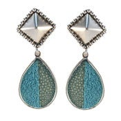 Image of Alex Earrings - Turquoise