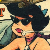 Image of Bang Shift Betty Print