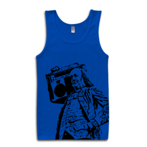 Image of Ben Jammin' Tank (Blue)
