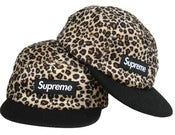 Image of NEW! Supreme Box Logo Leopard Body Snapback Hat Collection