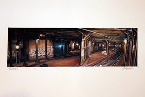 Image of &quot;TUNNEL&quot; PRINT BY JAMIE O'NEILL