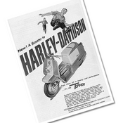 Image of HD Topper Scooter Original Ad Prints