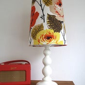 Image of NEW Tall Tapered Lampshade